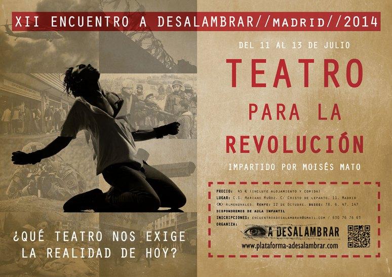 Encuentro de Verano Teatro para la Revolución